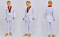 Добок кимоно для тхэквондо MOOTO ITF белый 240г/м2 Артикул CO-5518