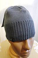 Подростковая мужская шапка размер 56