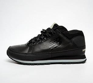 Мужские кроссовки New Balance 754 Winter Shoes черные топ реплика, фото 2