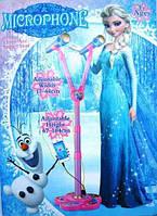 Детский музыкальный микрофон Frozen (Холодное сердце) 884
