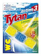 Туалетный блок Титан Action 3 с лимон