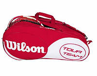 Сумка для большого тенниса для ракеток WILSON TOUR TEAM 12 PACK