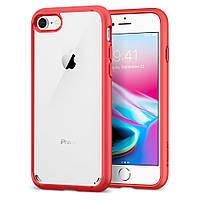 Чехол Spigen для iPhone 8 Ultra Hybrid 2, Red, фото 1