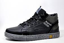 Кожаные ботинки Splinter, зимние с мехом, фото 2