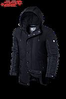 Куртка зимняя мужская Braggart Dress Code - 4282D черная