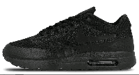"Кроссовки Nike Air Max 87 Ultra Flyknit ""Triple Black"" Арт. 1423"