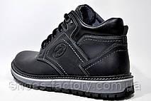 Кожаные ботинки Kardinal, зимние на меху, фото 3