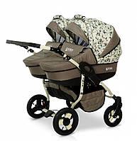 Детская универсальная коляска для двойни Verdi Twin 14