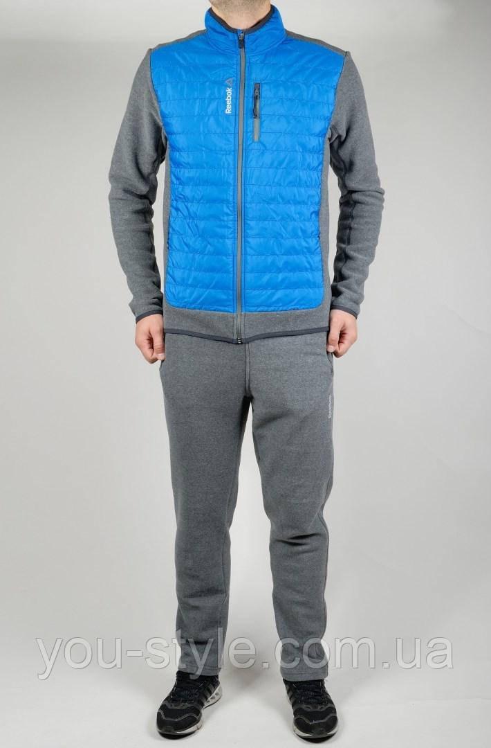 Зимний спортивный костюм Reebok 4431 Тёмно-серый
