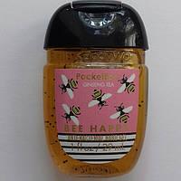 Антибактериальный гель (санитайзер) Bath&Body Bee Happy