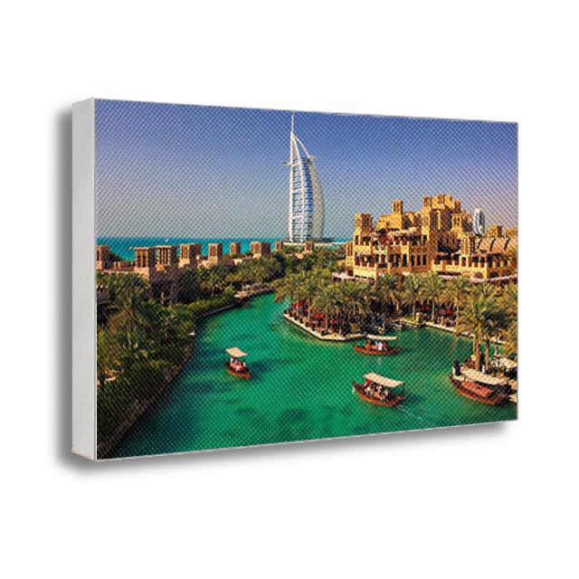 Картина на холсте с принтом Дубай