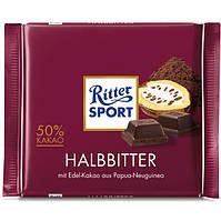 Ritter Sport Halbbitter 50% Kakao 100 g