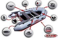 Моторно-килевая лодка  Вулкан VMK330(PS)