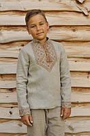 Вышитая рубашка для мальчика ДМ18-236