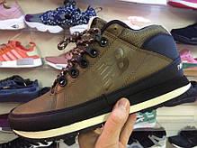 Мужские кроссовки New Balance 754 Winter Shoes коричневые топ реплика, фото 2