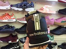 Мужские кроссовки New Balance 754 Winter Shoes коричневые топ реплика, фото 3
