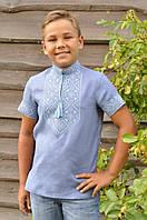 Вышитая рубашка для мальчика ДМ16к-273