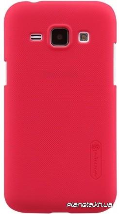 Nillkin Super Frosted Shield пластиковый чехол-накладка для Samsung E7/E700 Красный