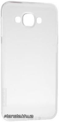 Nillkin Nature TPU силиконовый чехол-накладка для Samsung E7/E700 Белый