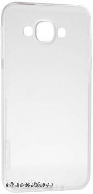 Nillkin Nature TPU силиконовый чехол-накладка для Samsung E7/E700 Белый, фото 2