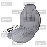 Накидка сидения с подогревом Elegant 100 577 серая, 100*50 см