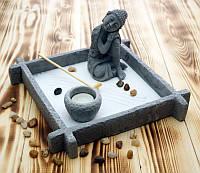"""Сад камней Дзэн """"Будда"""" (25х25х14 см)"""