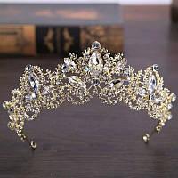 Корона, диадема, тиара под золото, высота 5,5 см.