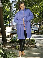 Стильное шерстяное пальто Оверсайз 03614