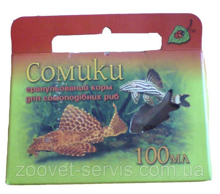 Корм для рыб «Сомики»