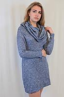 Стильное вязанное трикотажное платье от Megi Турция
