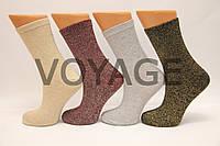 Женские носки с люрексом EKMEN высокие