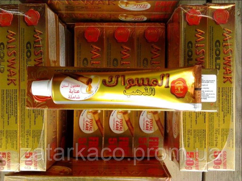 Зубная паста Miswak Gold, Dabur(Индия), 170мл - ZatarkaCo в Хмельницком