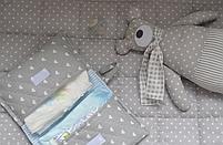 Бортики  в кроватку  стеганные, фото 5
