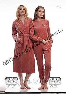 Комплект велюровый женский LNP 130/001 (ELLEN)
