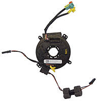 Модуль (контактный блок, лента подрулевая, шлейф подрулевой) подушки безопасности (AIR BAG) рулевой колонки (Д, фото 1