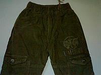 Утепленные вельветовые штаны для мальчиков