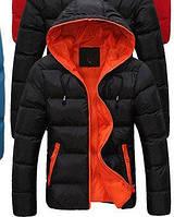 Куртка мужская теплая черная