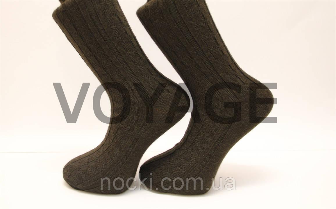 Шерстяные мужские носки с узором SL