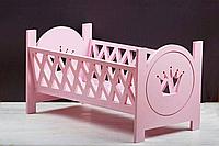 Кроватка для кукол, игрушечная кроватка.