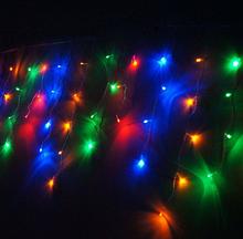 Світлодіодна гірлянда Бахрома RGB 220V