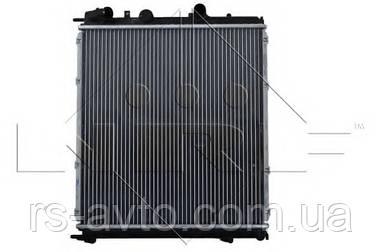 NRF Радиатор охлаждения Renault Kangoo, Рено Кенго 1.9D (-AC) 58075