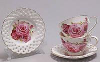 Кофейный сервиз Букет роз I 90мл 12 предметов
