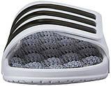 Массажные шлепанцы Adidas Performance Men's Adissage 2.0 M Stripes Sandals,White, р. 37,5, фото 4