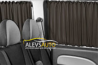 Шторы VolksWagen Caddy 2010- Черные