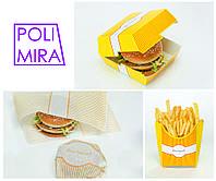 Картонная упаковка для еды