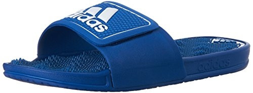 Массажные шлепанцы Adidas Performance Logo Sandals, Blue, стелька 25 см