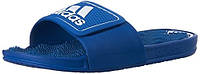 Массажные шлепанцы Adidas Performance Logo Sandals, Blue, стелька 25 см, фото 1
