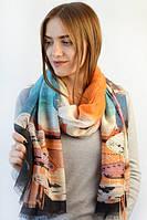 Классический красивый женский шарф