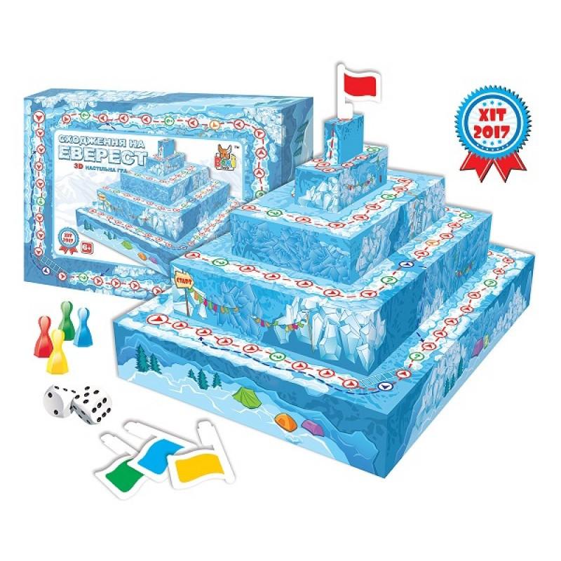 """Настольная 3D игра """"Восхождение на гору Эверест"""" 0295"""