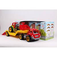 Автовоз с трактором (3916)